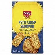Schar crisp rolls petits grillés sans gluten 150g