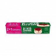 Bonta Divina panna cotta caramel 2 x 120g + 1 offert