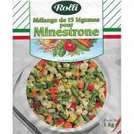 Rolli minestrone mélange 15 légumes 1kg
