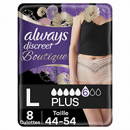 Always discreet incontinence boutique l x8