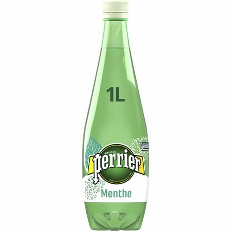 Perrier eau gazeuse aromatisée menthe 1L