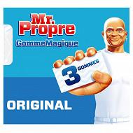Mr Propre gomme magique produit d'entretien original x3