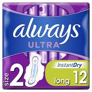 Always ultra serviettes long+ x12