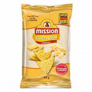 Mission tortilla chips cheese nixtamal 175g