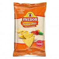 Mission tortillas chips chili habanero 12x175g
