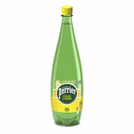 Perrier eau gazeuse aromatisée citron 1L