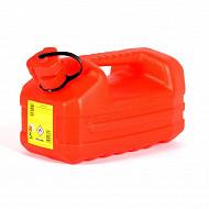 Eda jerrican plastique hydrocarbure 5l - rouge