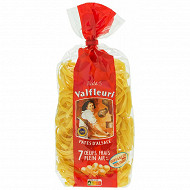 Valfleuri pâtes d'Alsace Nids 5mm sachet 500g