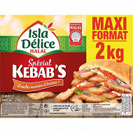 Isla Délice kebab volaille émincée halal 2kg