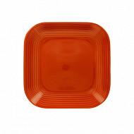 Coupelle 15.5x15.5cm en gres rouge