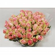 Bouquet de 7 roses gros boutons hauteur 50 cm