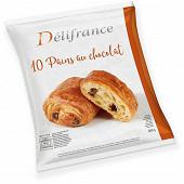 Delifrance pain au chocolat au beurre x10 60g
