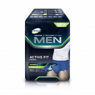 Tena men active fit 8 pants + large