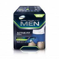 Tena men active fit 9 pants + medium