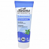Alviana dentifrice à la menthe bio 75ml