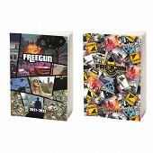 Agenda pefc freegun assortis 2d 1 page par jour