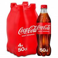 Coca Cola 4x50cl masterbrand