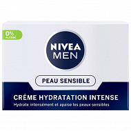 Nivea men soin ultra hydratant sensitive 50ml