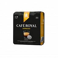 Café Royal dosettes souples type senséo x36 250g