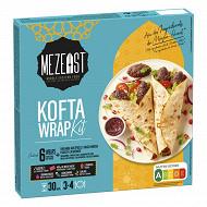 Mezeat cuisine du moyen orient kit de 362g wrap kofta