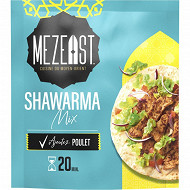 Mezeast assaisonnement pour shawarma sachet de 50g