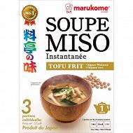 Marukome soupe miso tofu grillé 57g