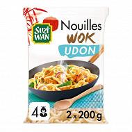 Suzi Wan nouilles récsuite udon pour wok 400g