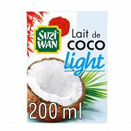 Suzi Wan lait de coco allégé 200ml