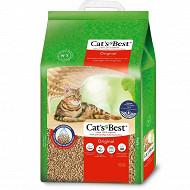 Cat's best original 8.6kg/20l nouvelle formule litière végétale agglomérante