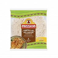 Mission tortilla multigrains 240g