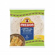 Mission tortilla blé nature 240g
