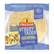 Mission street tacos blé nature 225g
