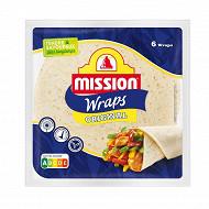 Mission wraps au blé nature 370g