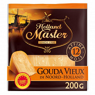 Holland Master gouda vieux de noord holland affiné 12 mois aop 200g