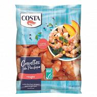 Costa crevettes cuites du pacifique rouges 300g