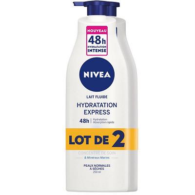 Nivea Nivea body lait hydratant express 2x250ml