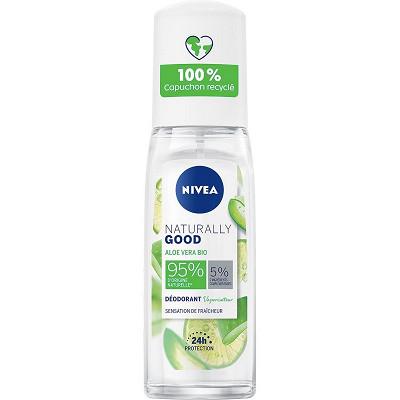 Nivea Nivea déodorant Naturally Good vaporisateur Aloe Vera 75ml