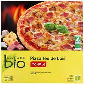 Nature Bio pizza cuite au feu de bois royale bio 400g
