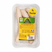Saucisses blanches munster cumin