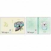 Clementina frog classeur carton decor koala a4 dos 40mm