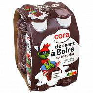 Cora Kido dessert à boire chocolat 4x180g