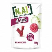 N.A! fruit stick framboise doypack de 40g