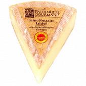 Patrimoine gourmand Saint Nectaire laitier AOP au lait pasteurisé 250g