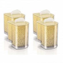 Philips Pack de 4 cartouches anticalcaire pour PerfectCare Pure GC004/00