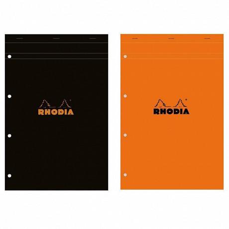 Rhodia - Bloc perforé 21x31.8 cm 160 pages petits carreaux