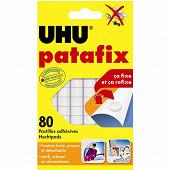 Uhu - Patafix blanc 80 pastilles repositionnables