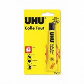 Uhu - Tube de colle flex  + clean tube plastique 20 ml
