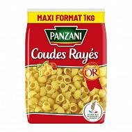Panzani pâtes coudes rayes 1kg