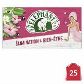 Eléphant infusion élimination et bien-être x25 40g