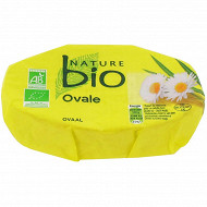 Nature bio fromage ovale 180 g 25% mg